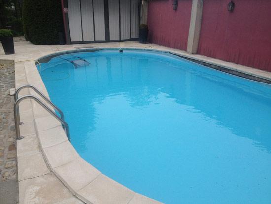 La piscine avant rénovation