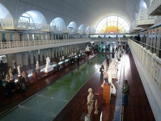 Le musée de la piscine à Roubaix de nos jours