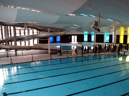 Ouverture du centre baln oludique aquarena arras for Piscine lievin
