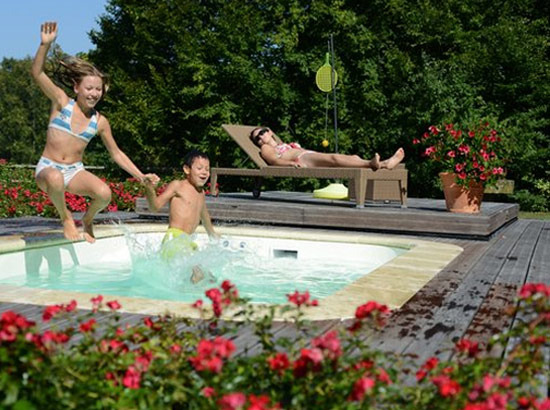 Design piscine hors sol chauffer limoges 33 piscine for Chauffer piscine