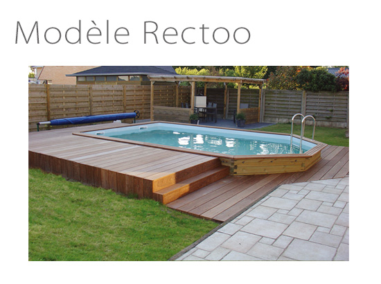 Piscine rectangulaire rectoo